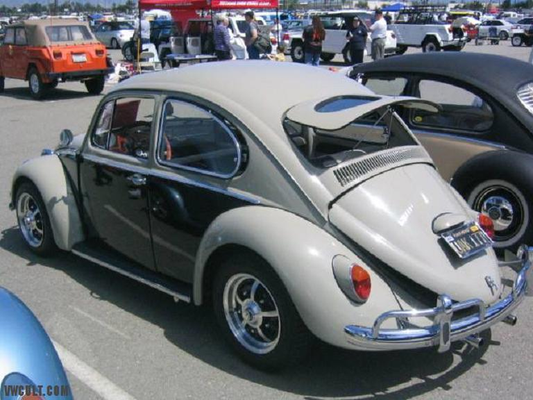 VW Kafer window