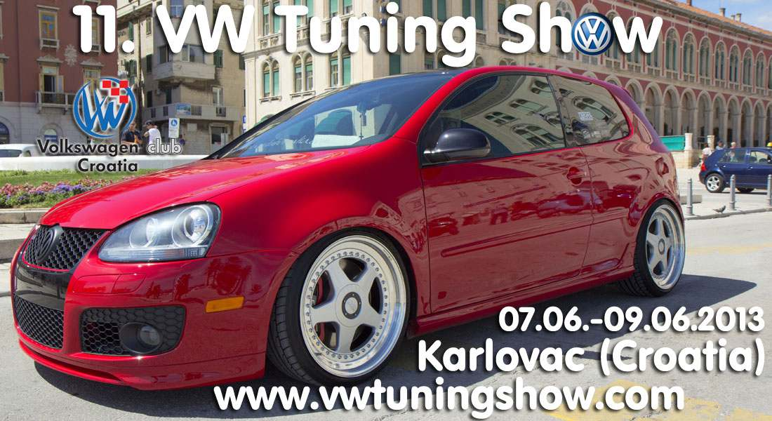 11. VW Tuning Show (7.-9.6.2013.)