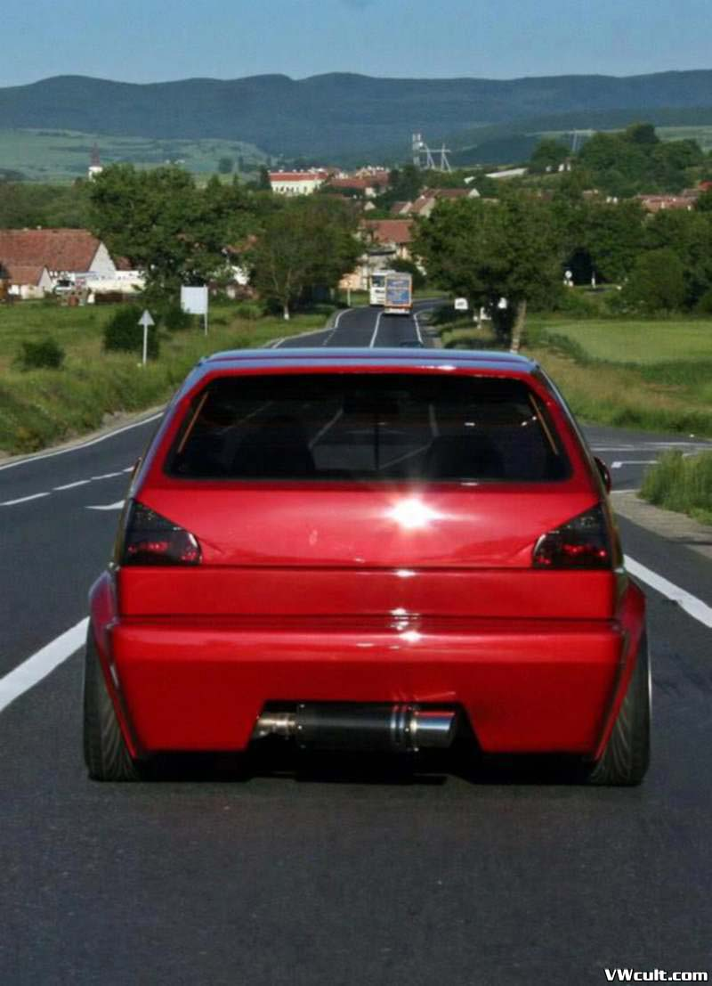 volkswagen golf mk2 red. Black Bedroom Furniture Sets. Home Design Ideas