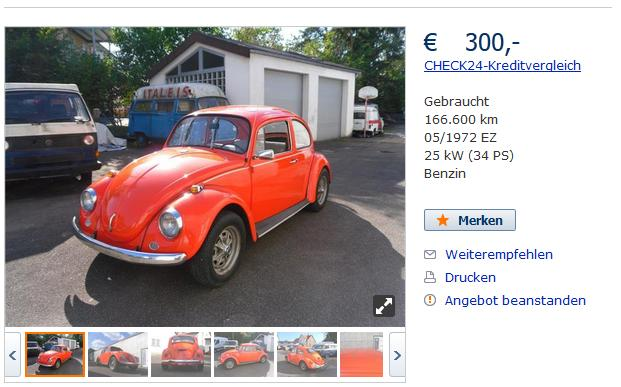 Find and Buy Volkswagen Beetle