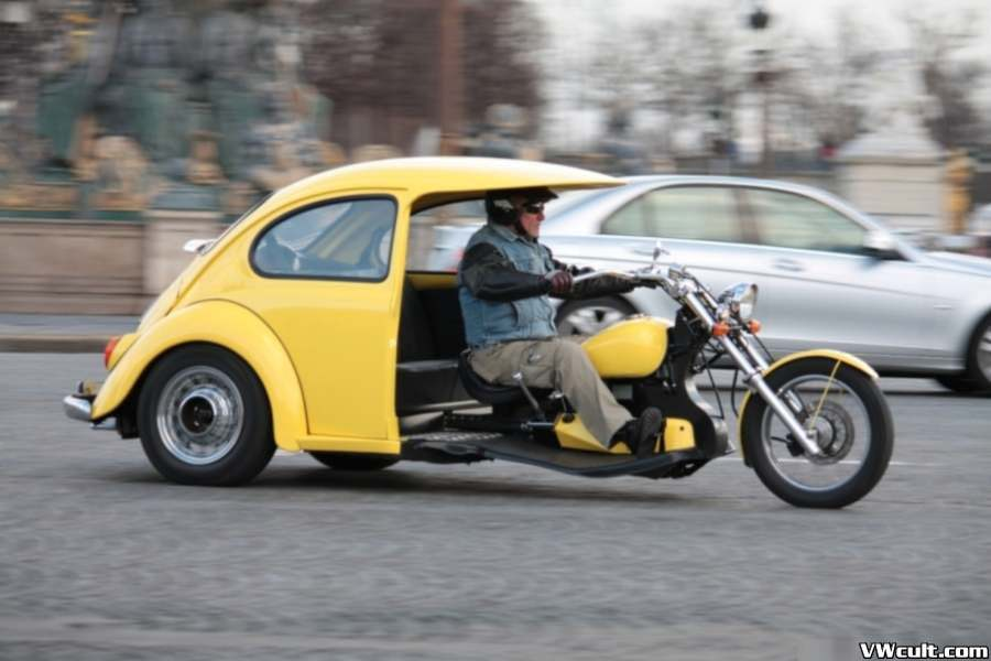 Beetle motocycle