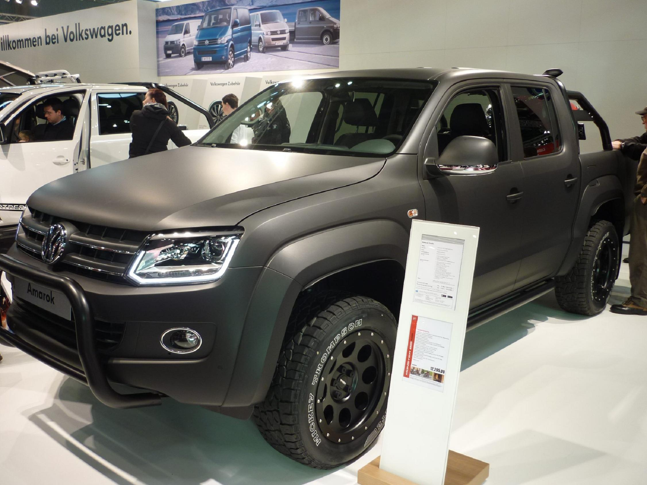 VW-Amarok tuned by delta4x4