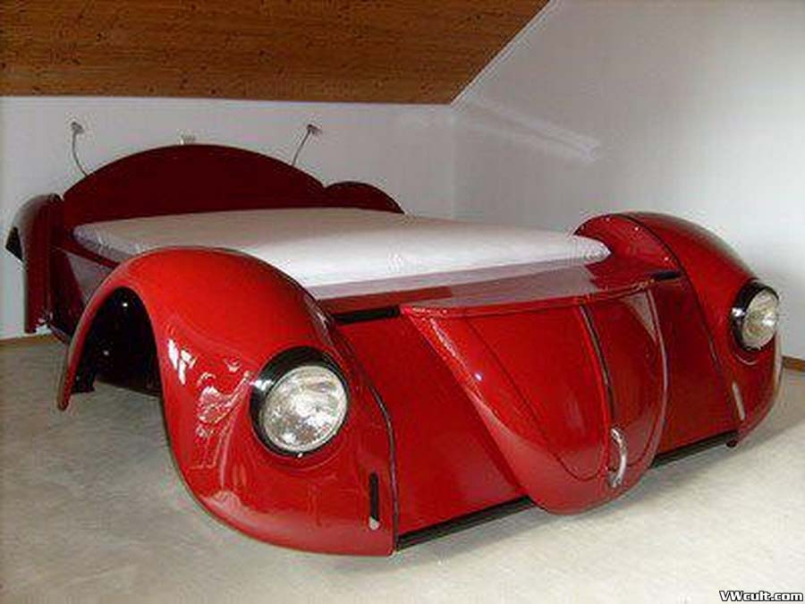 VW Beetle frontend Bed