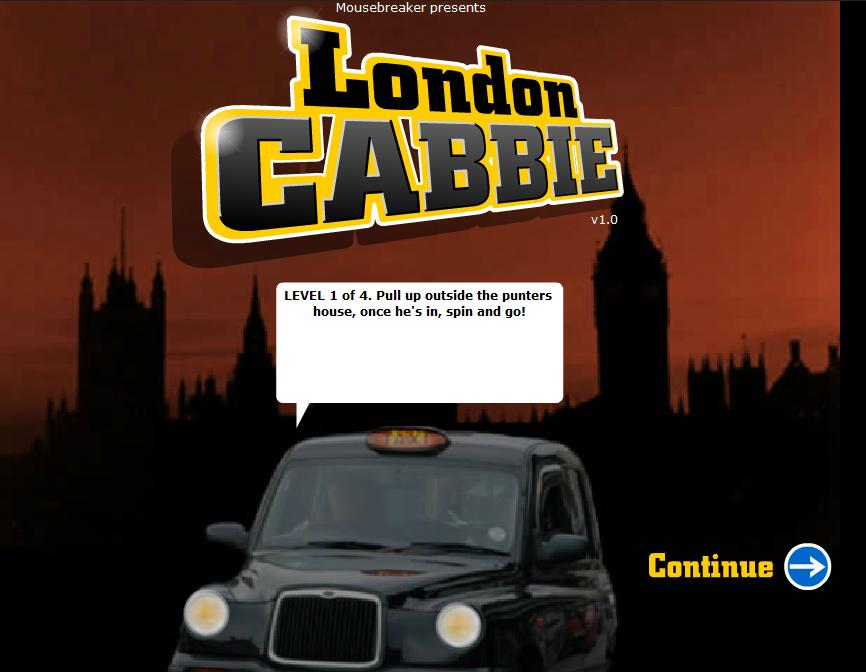 game-london-cabbie