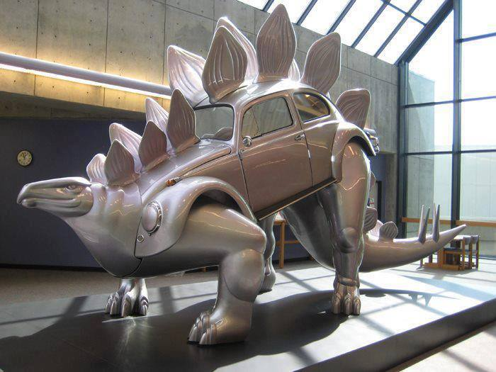 VW Bug Dinosaur
