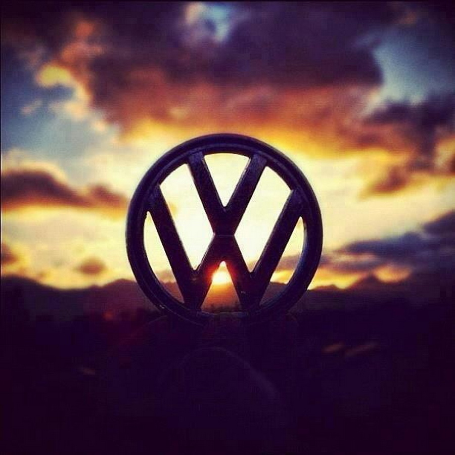 VW logo on Sun