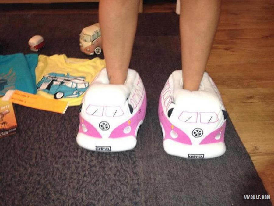 VW Bus Slippers