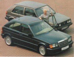 Mercedes tuned by Schulz