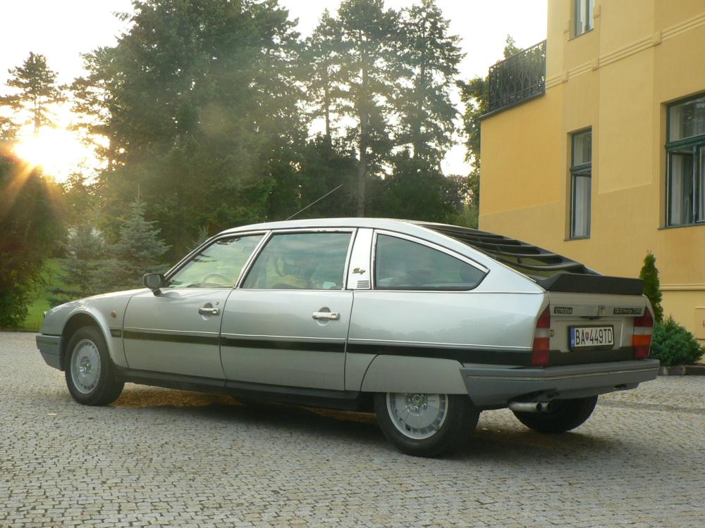 our friend from bratislava send us photo with his new car it is citroen cx prestige. Black Bedroom Furniture Sets. Home Design Ideas