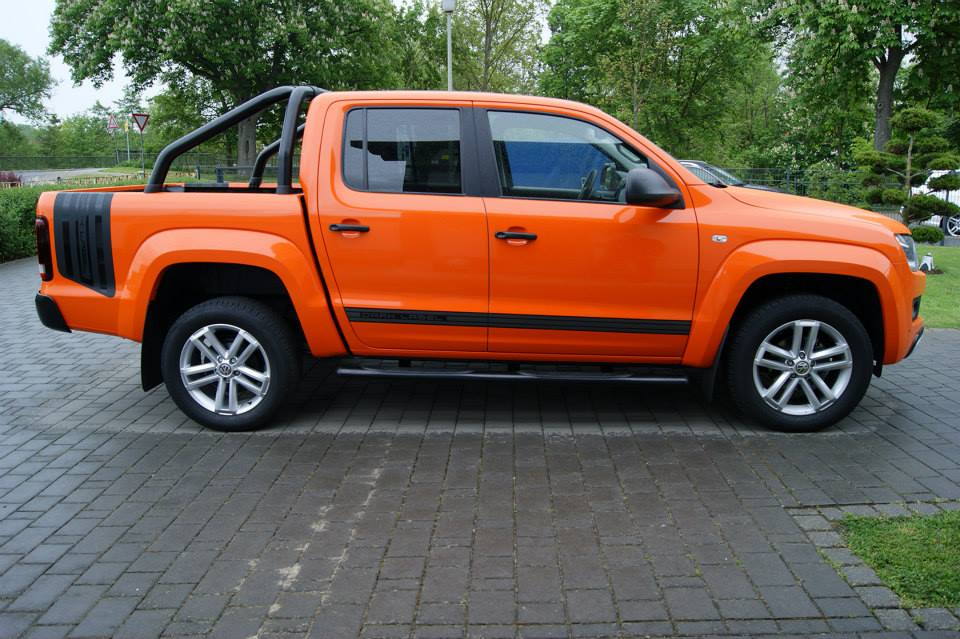Volkswagen Amarok orange