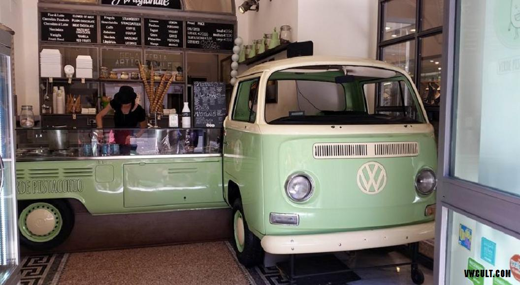 Ice cream parlor - VW Bus