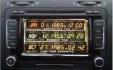 VW RNS510 Back-To-The-Future Boot up Logo-Start-Up-Screen