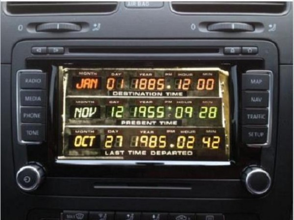 Vw-Rns510-Back-To-The-Future-Boot-up-Logo-Start-Up-Screen