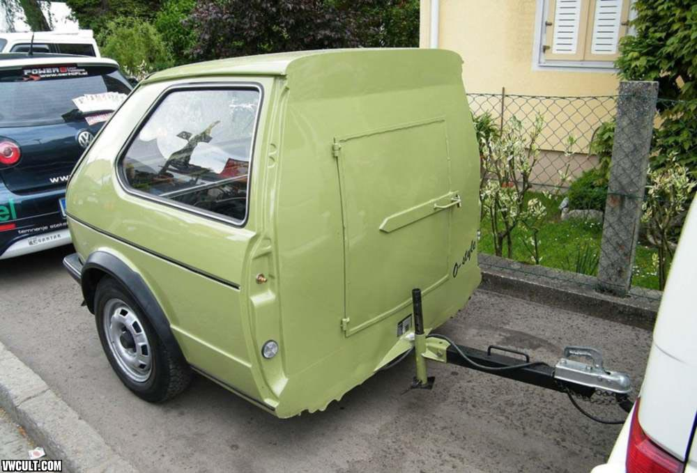 VW Golf 1 Trailer