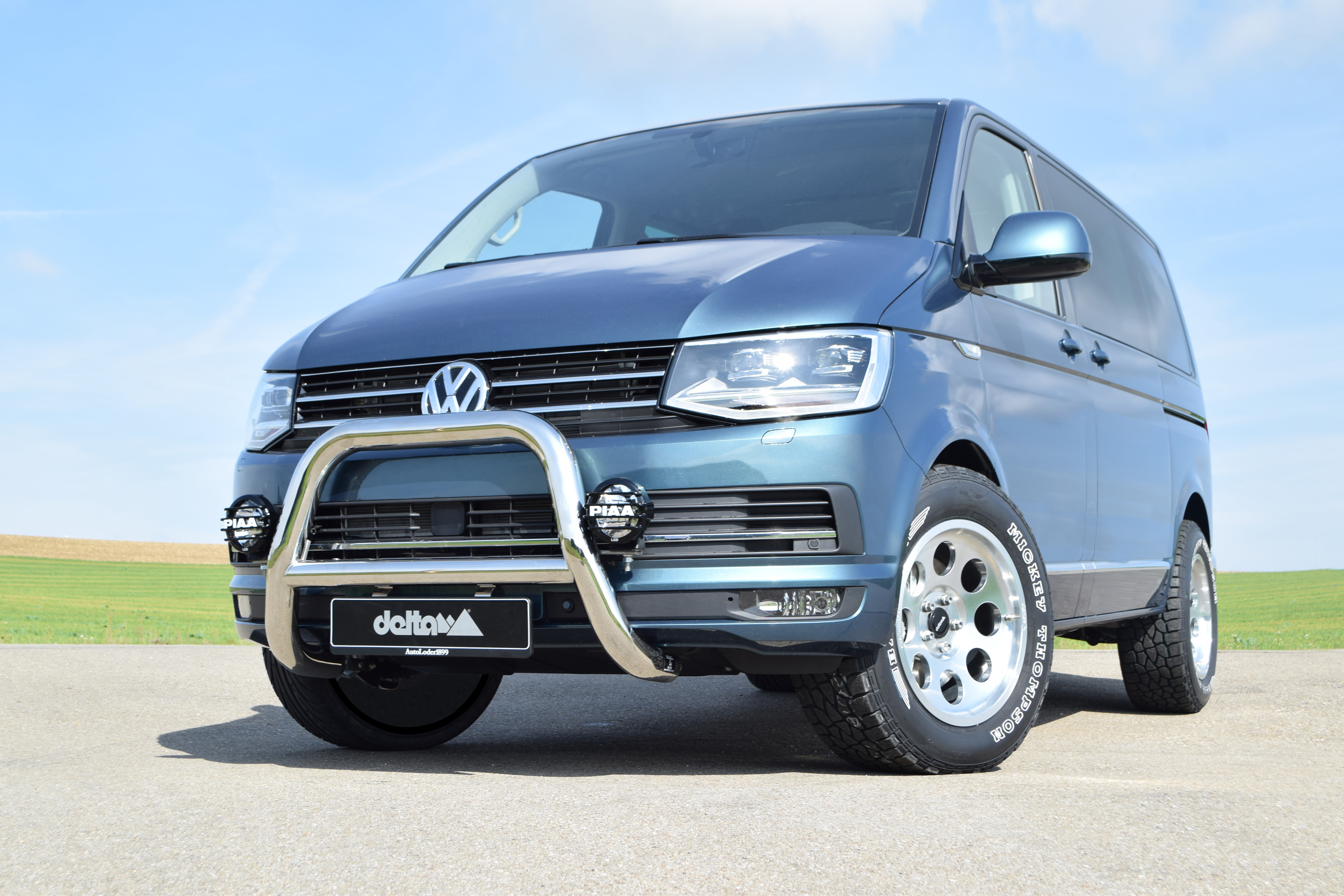 The VW Van Sixth Edition by Delta4x4