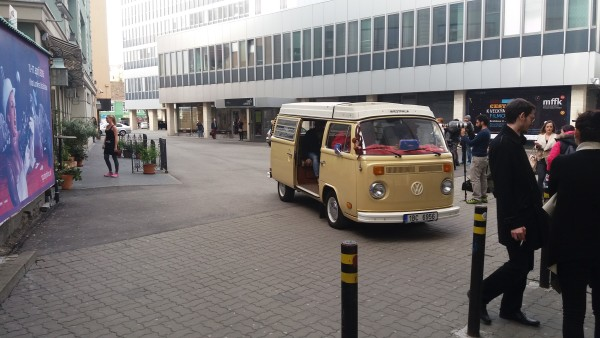 Movie with VW T2