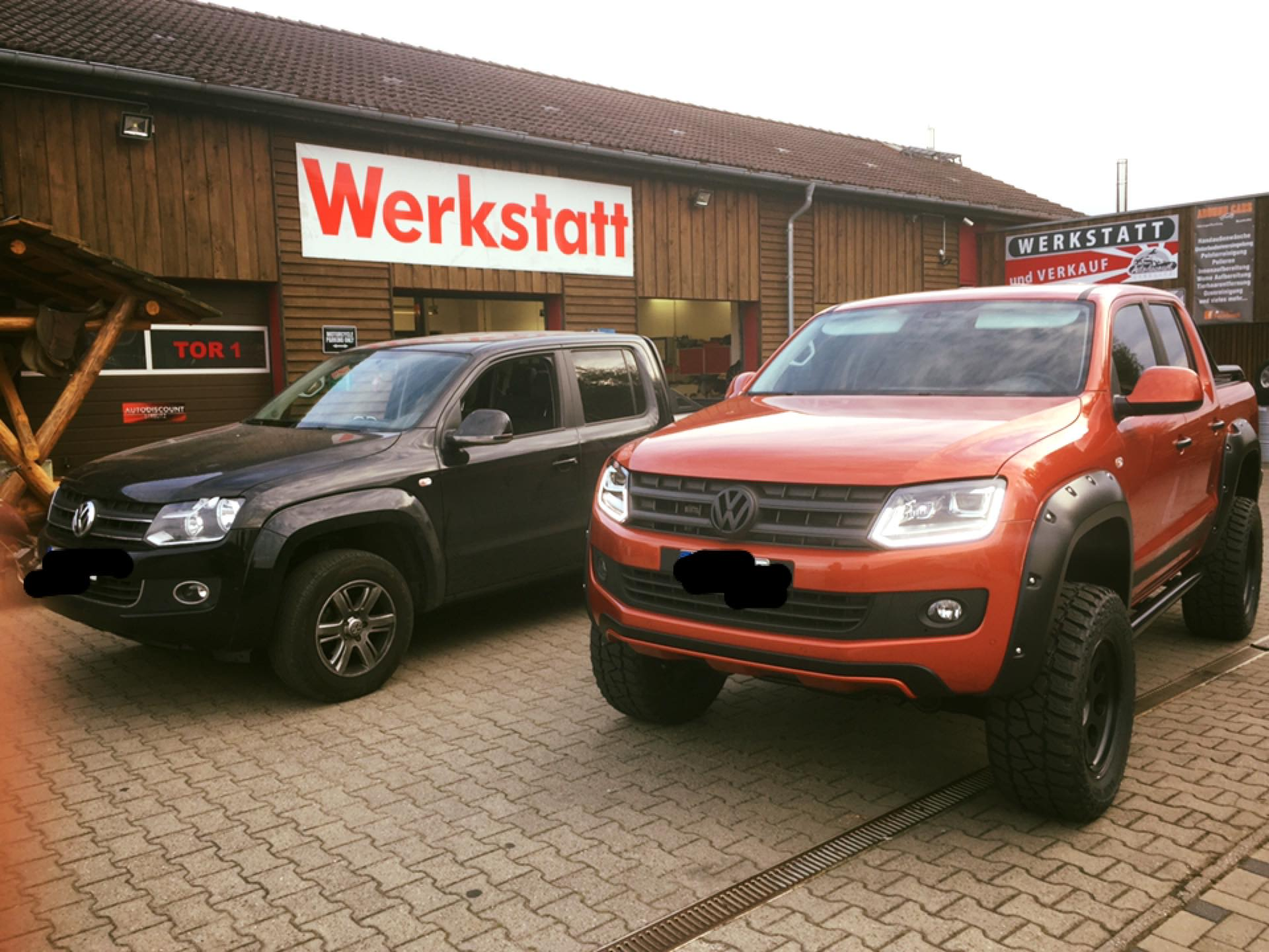 Volkswagen Amarok conversion