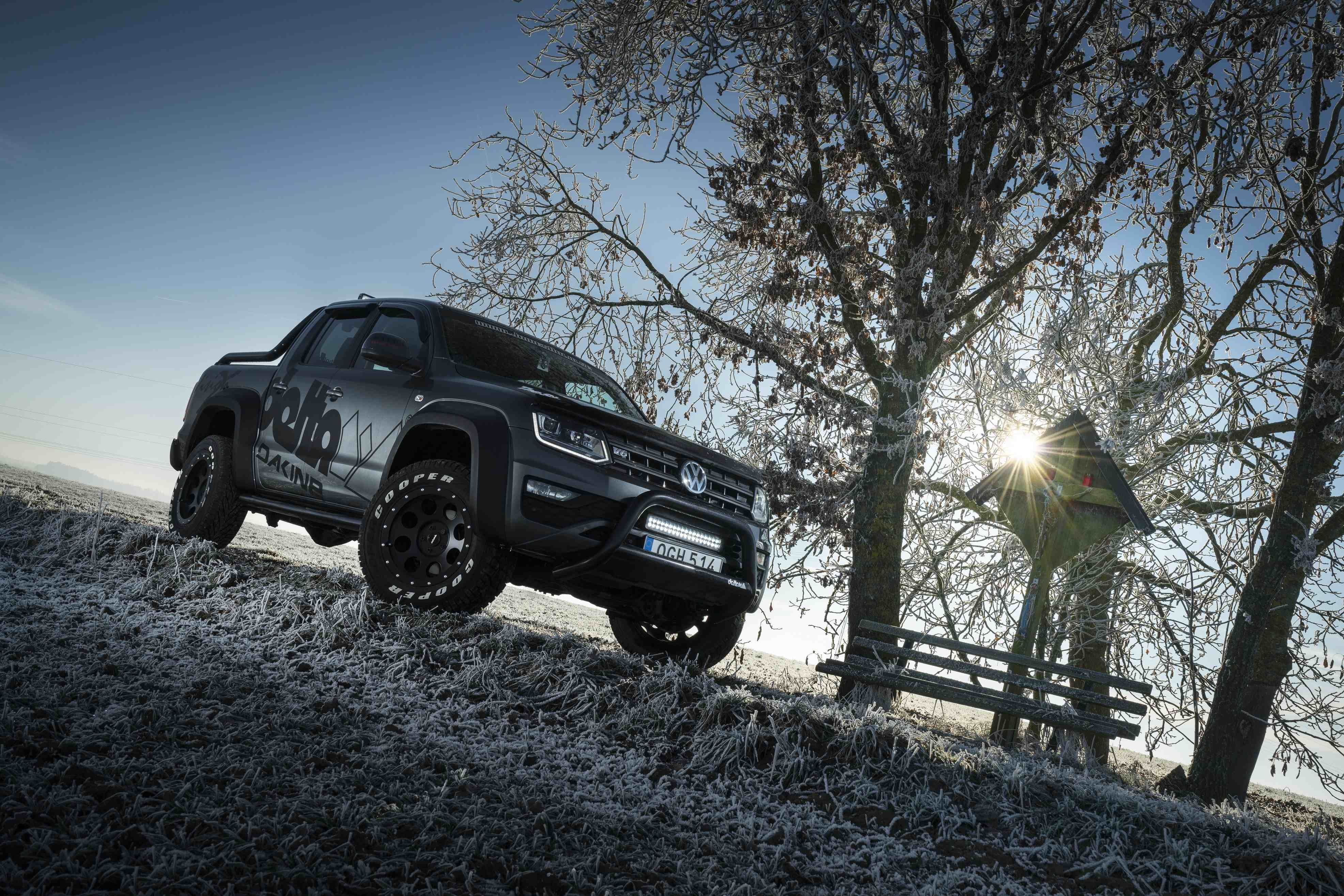 vw amarok cross james