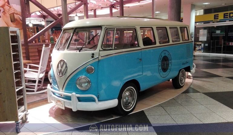 vw bus in munich