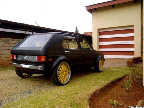 "Volkswagen Golf Mega"" Wheels"