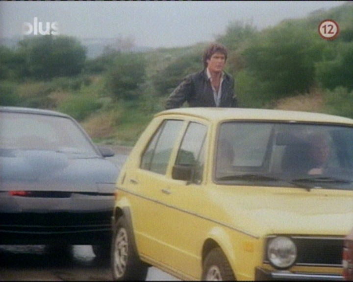 VW Golf in Knight Rider