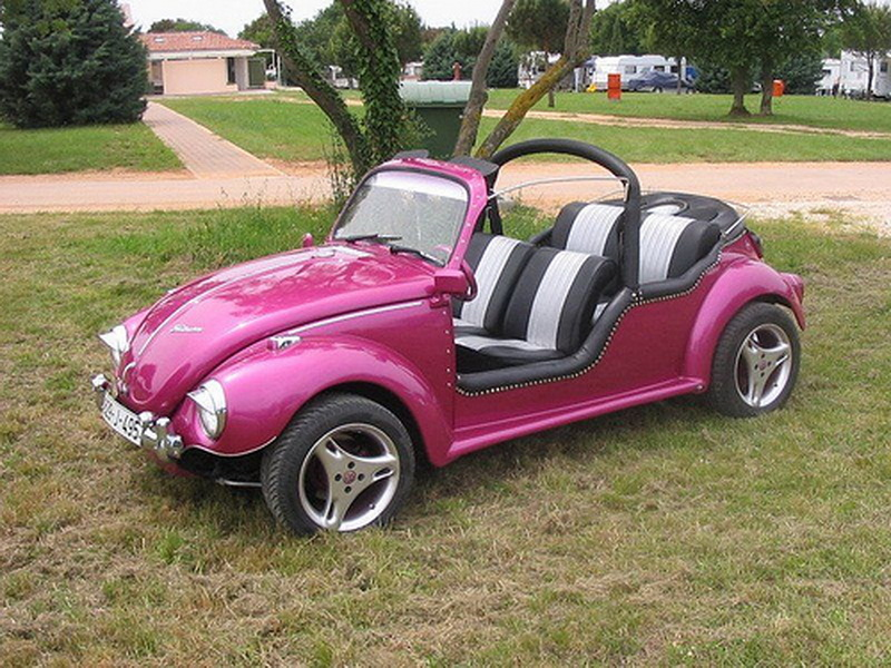 VW Beetle Buggy 4 pers