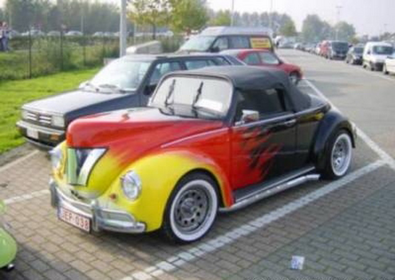 VW Beetle color
