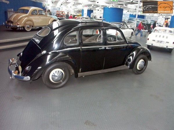 VW Beetle Export Taxi Messerschmidt 1953