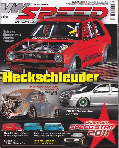 VW have photos in VWSpeed 01/2011
